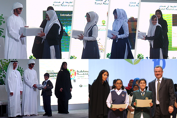 Achievement at The Annual Environment Competition 2011 - 2012